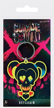 Porta-chaves Suicide Squad - Harley Quinn Skull
