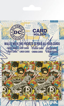 DC Comics - Retro Cast Porte-Cartes