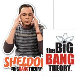 The Big Bang Theory - Sheldon Porte-clés