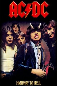 Poster de Têxteis AC/DC – Highway To Hell