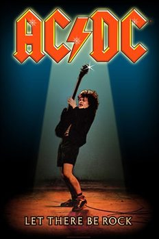 Poster de Têxteis  AC/DC – Let There Be Rock