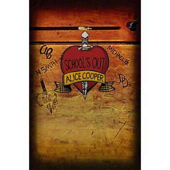 Poster de Têxteis Alice Cooper - Schools Out