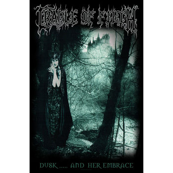 Poster de Têxteis  Cradle Of Filth - Dusk And Her Embrace