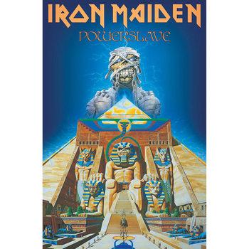 Poster de Têxteis Iron Maiden - Powerslave