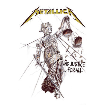 Poster de Têxteis  Metallica - And Justice For All