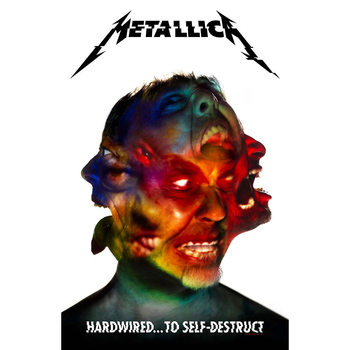 Poster de Têxteis  Metallica - Hardwired To Self Destruct