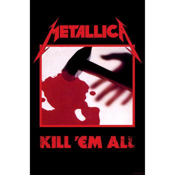 Poster de Têxteis Metallica - Kill Em All