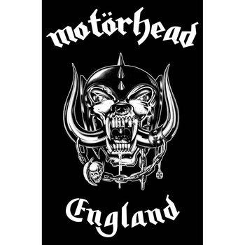 Poster de Têxteis Motorhead - England