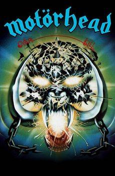 Poster de Têxteis  Motorhead – Overkill