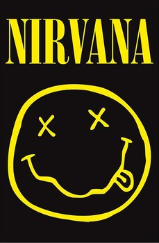 Poster de Têxteis  Nirvana - Smiley