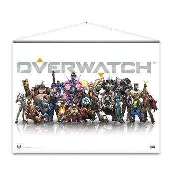 Poster de Têxteis  Overwatch - Heroes