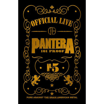 Poster de Têxteis  Pantera - 101 Proof