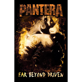 Poster de Têxteis  Pantera - Far Beyond Driven