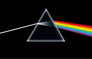 Poster de Têxteis  Pink Floyd - Dark Side Of The Moon