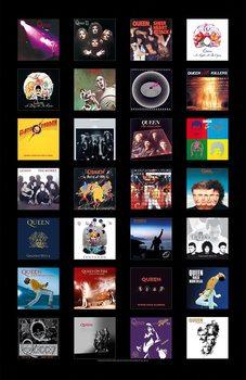 Poster de Têxteis Queen - Albums