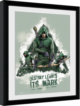 Arrow - Destiny Poster encadré