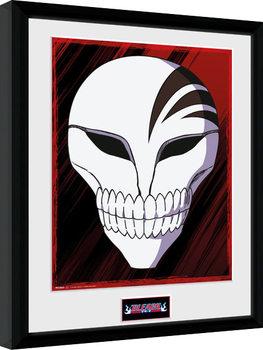 Bleach - Mask Poster encadré en verre