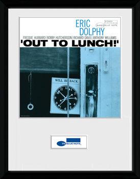 Blue Note - Dolphy Poster encadré en verre