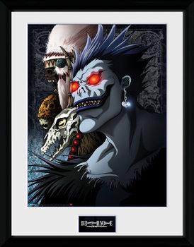 Death Note - Shinigami Poster encadré en verre
