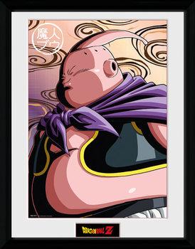 Dragon Ball Z - Buu Poster encadré en verre