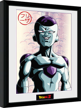 Dragon Ball Z - Frieza Poster encadré en verre