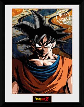 Dragon Ball Z - Goku Poster encadré en verre