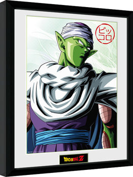 Dragon Ball Z - Piccolo Poster encadré en verre