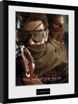 Metal Gear Solid V - Goggles Poster encadré en verre