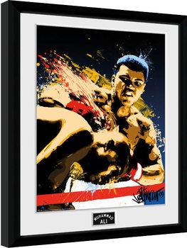 Muhammad Ali – Art 30x40cm Collector Print Poster encadré
