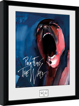 Pink Floid: The Wall - Scream Poster encadré