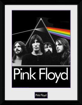 Pink Floyd - Prism Poster encadré en verre