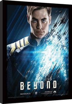 Star Trek : Sans limites - Kirk Poster encadré en verre