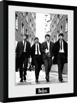 The Beatles - In London Portrait Poster encadré