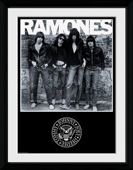 The Ramones - Album Poster encadré en verre