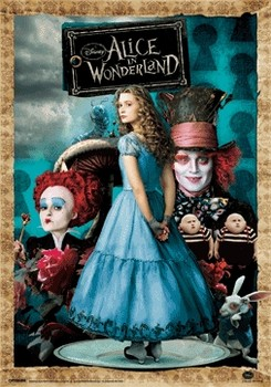3D Poster ALICE IN WONDERLAND