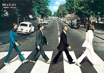 3D Poster Beatles - abbey road