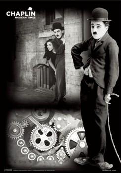3D Poster Charlie Chaplin - times