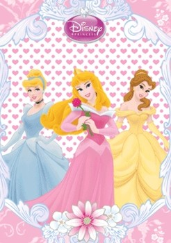 3D Poster  DISNEY PRINCESS