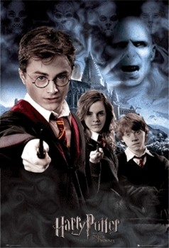 3D Poster HARRY POTTER - collage 3D