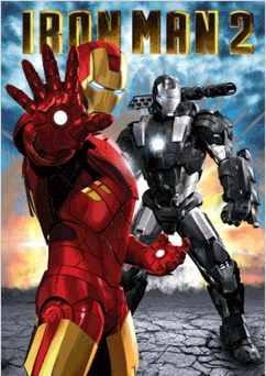 3D Poster IRON MAN 2 - hand