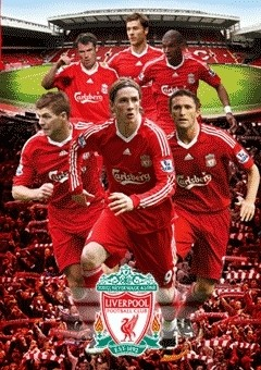 3D Poster LIVERPOOL - players 3D