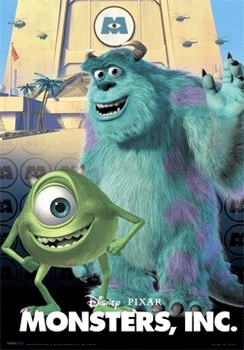 3D Poster MONSTERS INC.