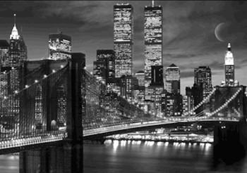 3D Poster New York - skyline