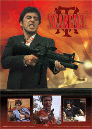 3D Poster SCARFACE