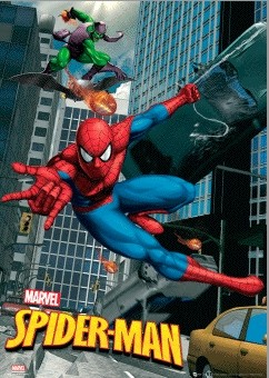 3D Poster SPIDER-MAN - swing