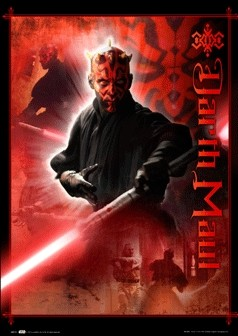 STAR WARS - darth maul 3D Poster