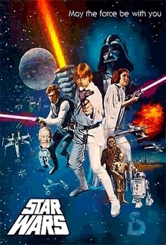 3D Poster STAR WARS - one sheet
