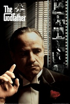 3D Poster  THE GODFATHER - film