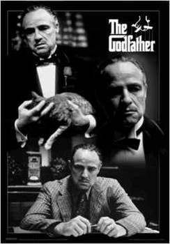 3D Poster  The Godfather - montage