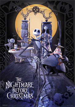 3D Poster THE NIGHTMARE BEFORE CHRISTMAS